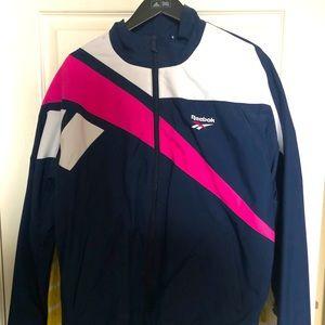 Vintage REEBOK Vector nylon windbreaker jacket GUC